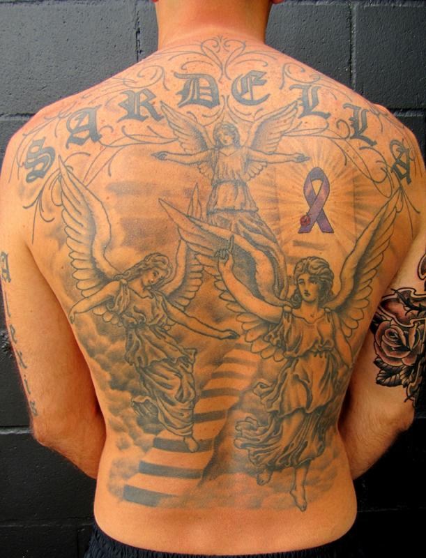 Stairway To Heaven Tattoo Tatzapper